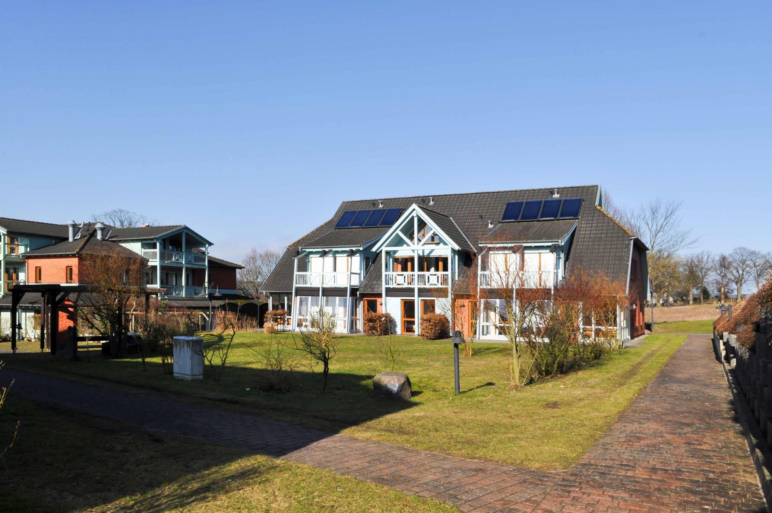 Ferienwohnung 9 - Haus am See - Seedorf- Ferienpark Seedorf